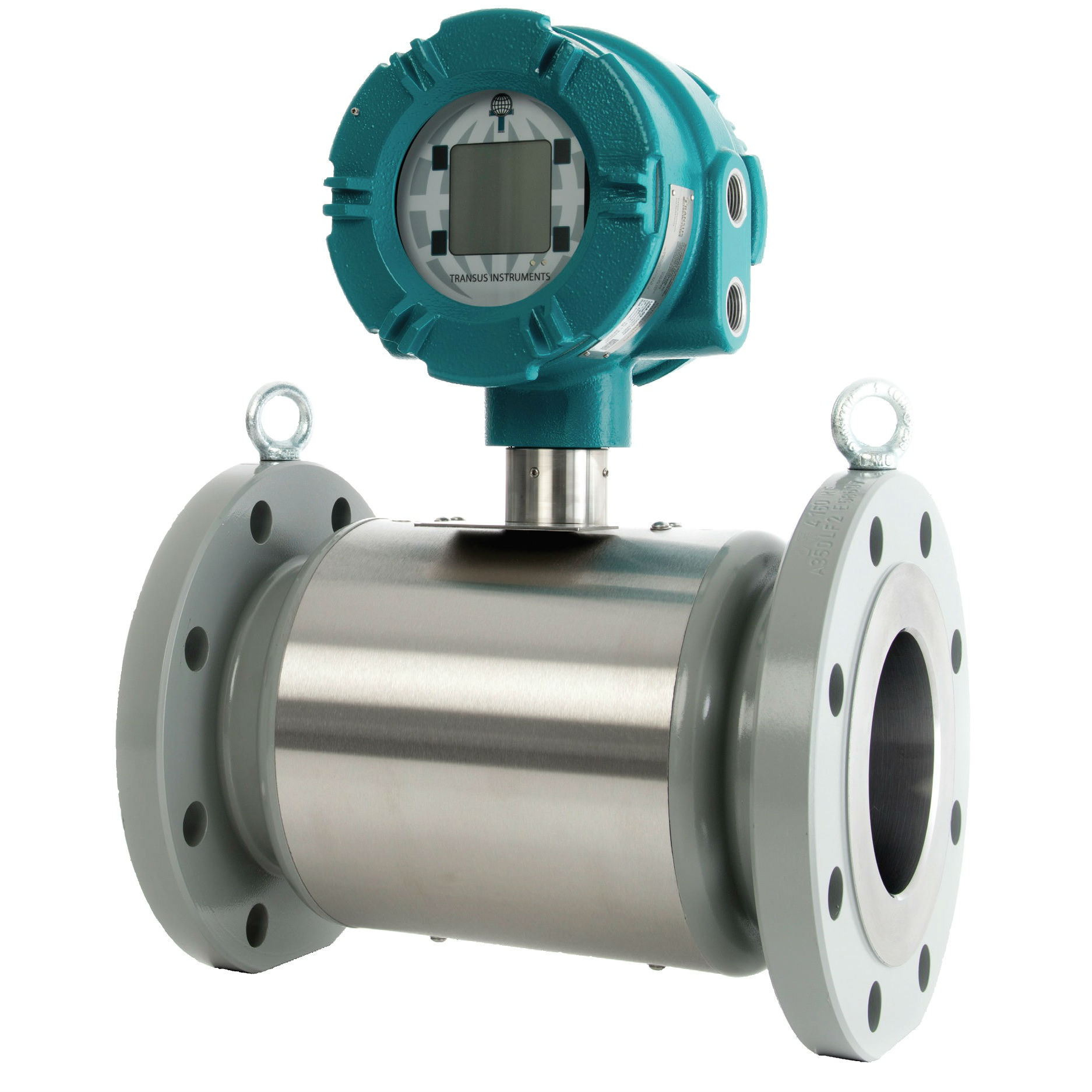 Transus Ultrasonic Gas Uim 4f Series Flow Meter Procon Transmitter Fm 45w With Valve Flowmeter