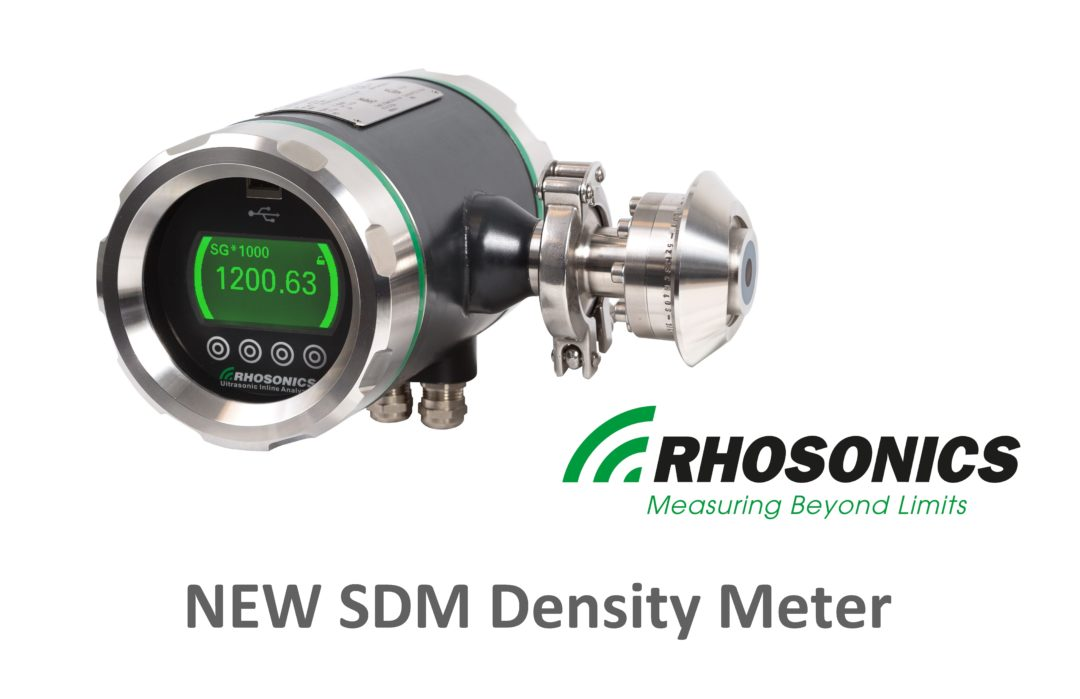 Nuclear Density Meter : Rhosonics launches the sdm density meter procon