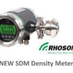 Rhosonics Launches The SDM Density Meter
