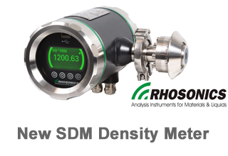 Rhosonics Launches The SDM Density Meter