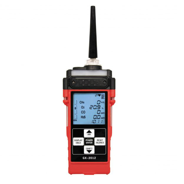 RKI GX-2012 Confined Space Multi-Gas Monitor