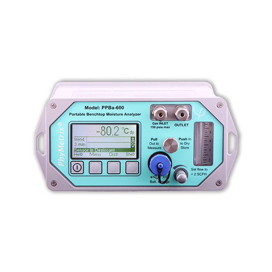 PPBa Portable Benchtop Dewpoint Analyzer