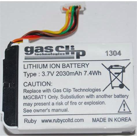 Gas Clip Batteries