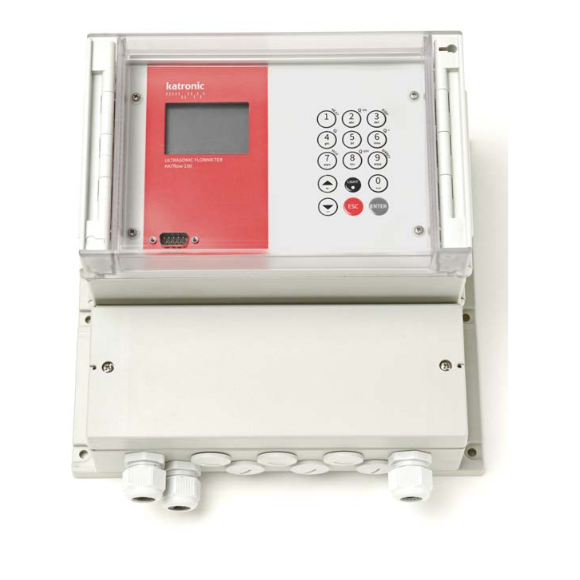 Katronic KATflow 150 Advanced Clamp-On Ultrasonic Flowmeter