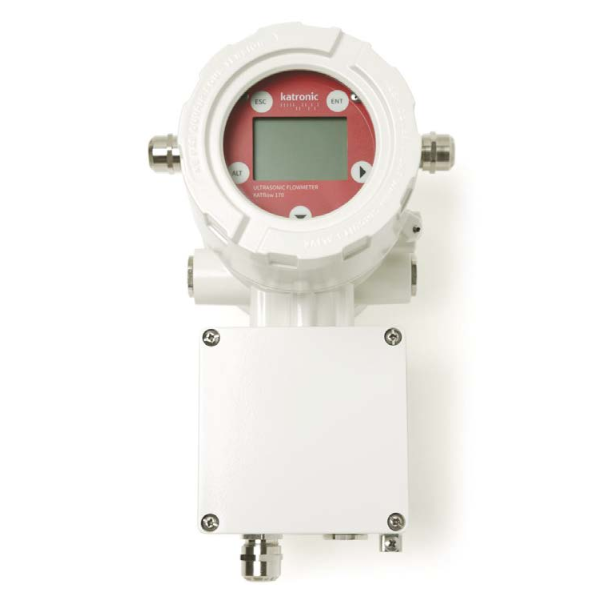 Katronic KATflow 170 Clamp-On ATEX Ultrasonic Flowmeter