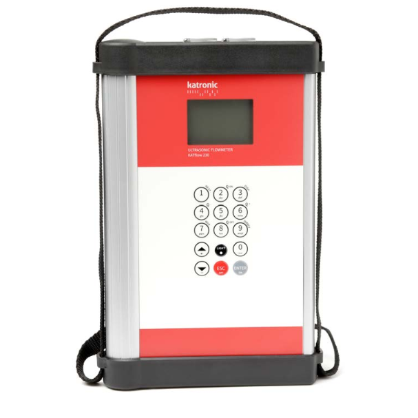 Katronic KATflow 230 Portable Clamp-On Ultrasonic Flowmeter