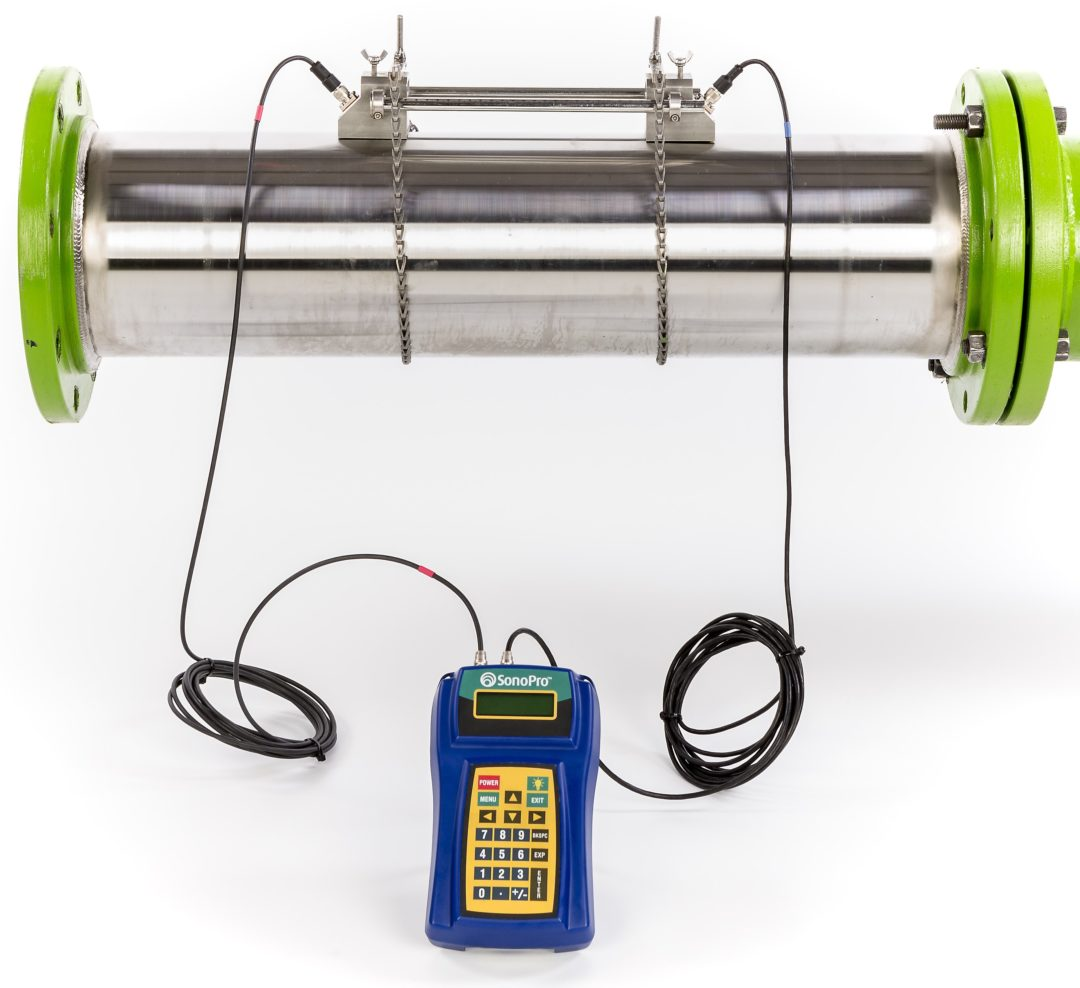 SonoPro Portable Professional Series Ultrasonic Flow Meter: Model S34