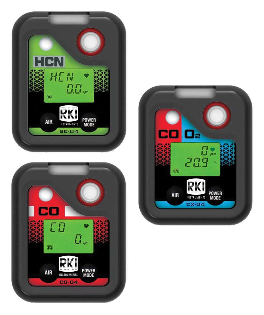 RKI 04 Series Smallest Toxic Gas Monitor