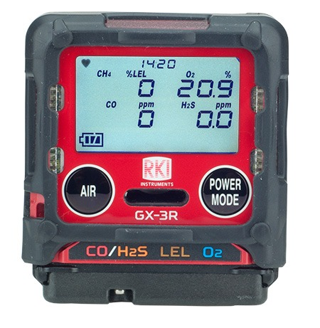 RKI GX-3R Gas Monitor