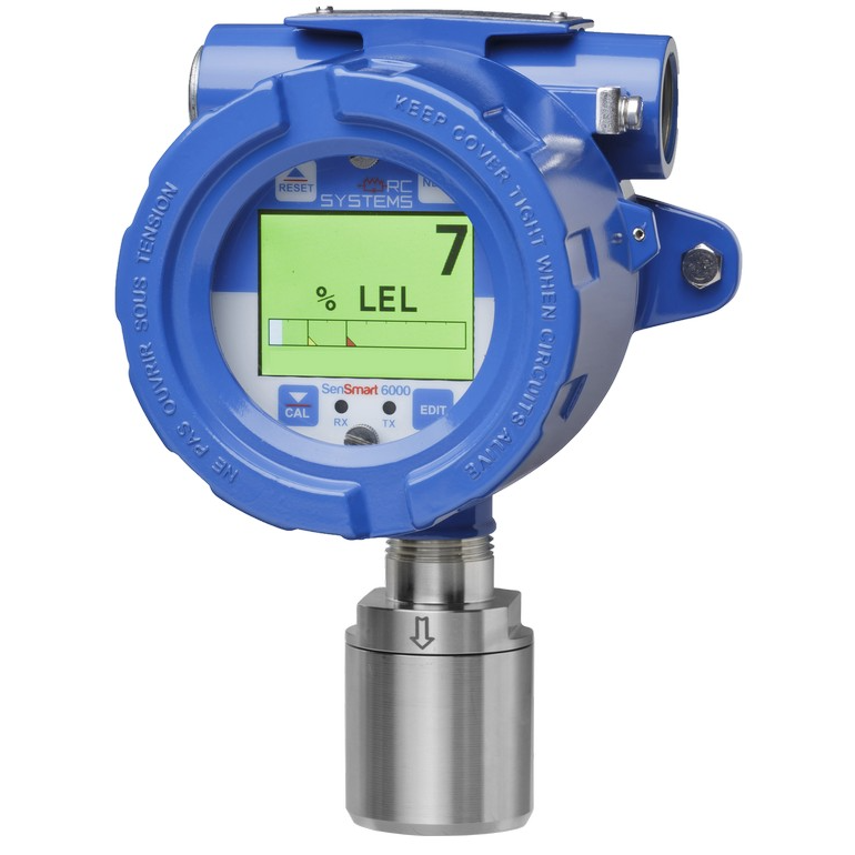 RC Systems SenSmart 6000 Series Gas Detection